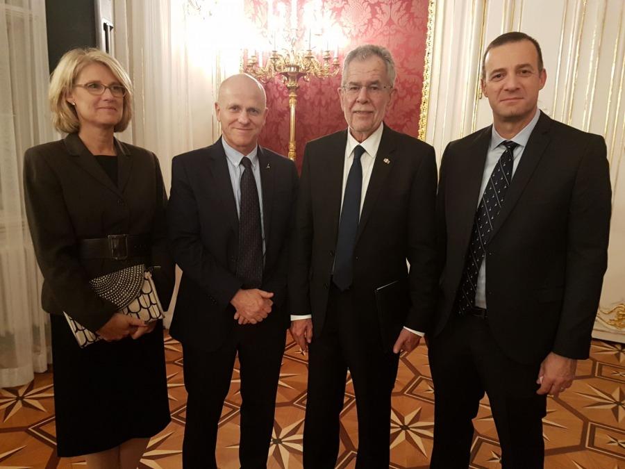 Reception at the Hofburg