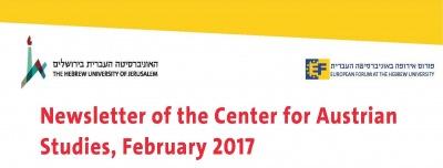 CAS Newsletter 02/2017