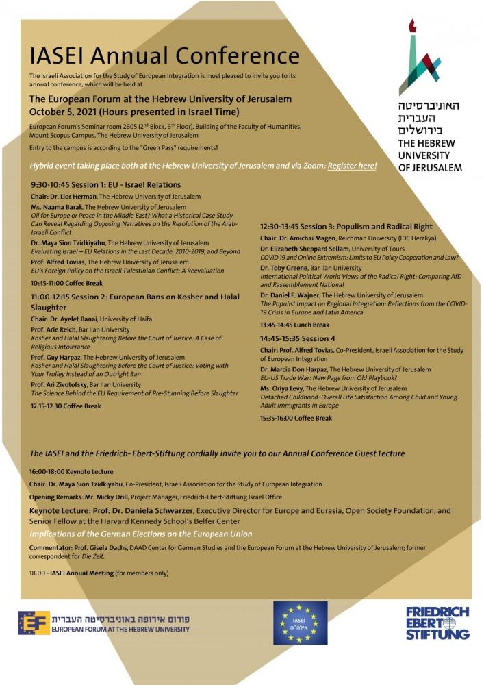 IASEI Annual Conference