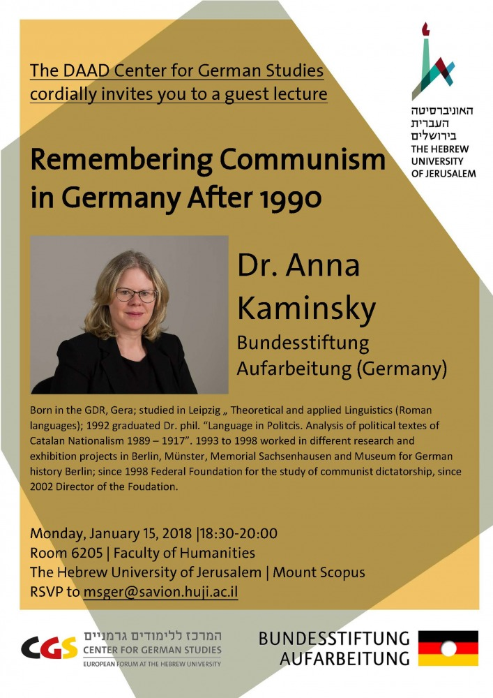 Remembering Communism in Germany After 1990