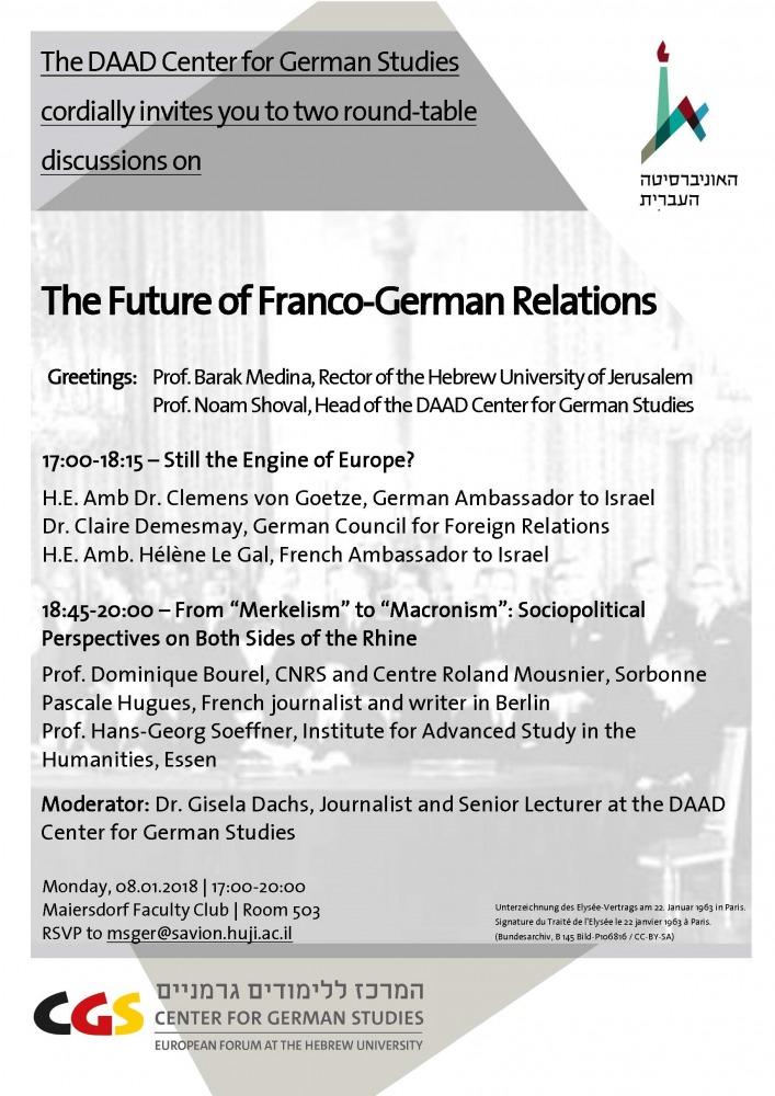 Franco-German Relations