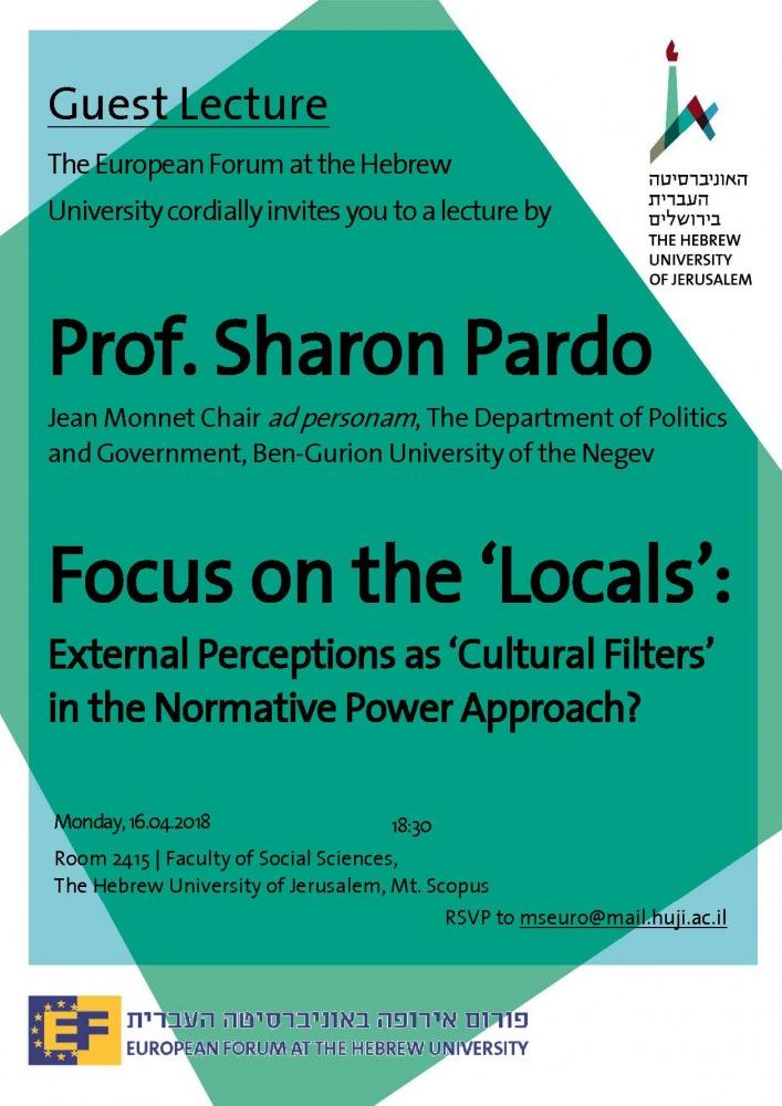 Prof. Sharon Pardo