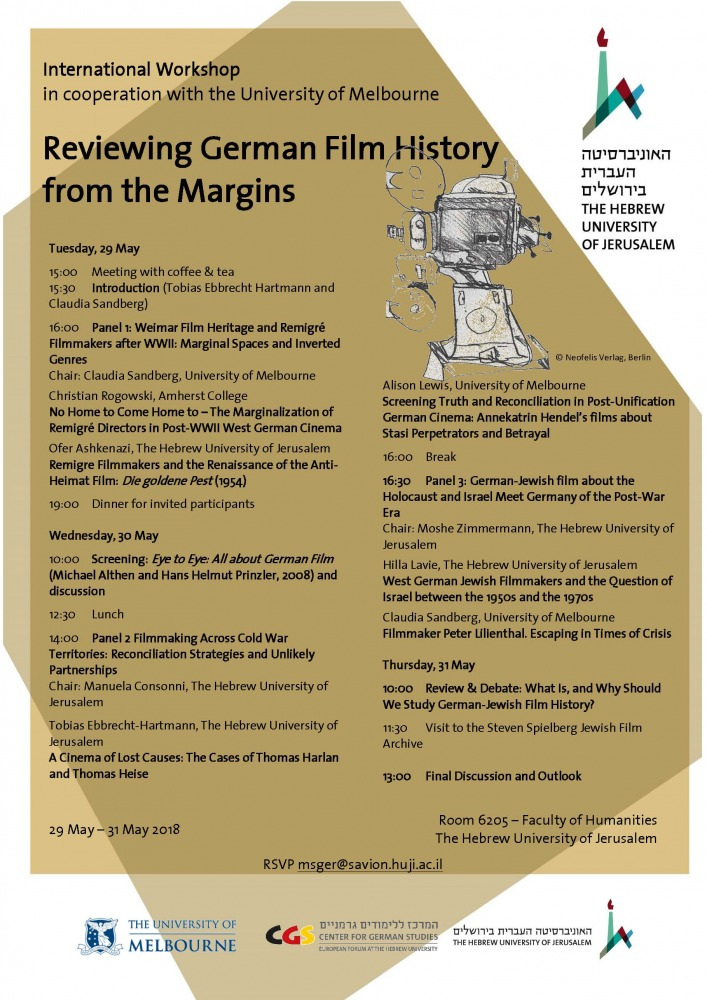 InvitReviewing German Film History