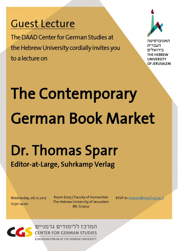 Invitation Dr. Sparr